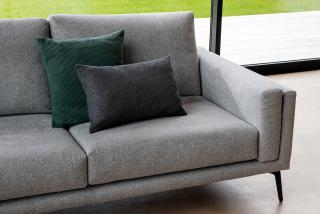 sofa with soho structured fabric