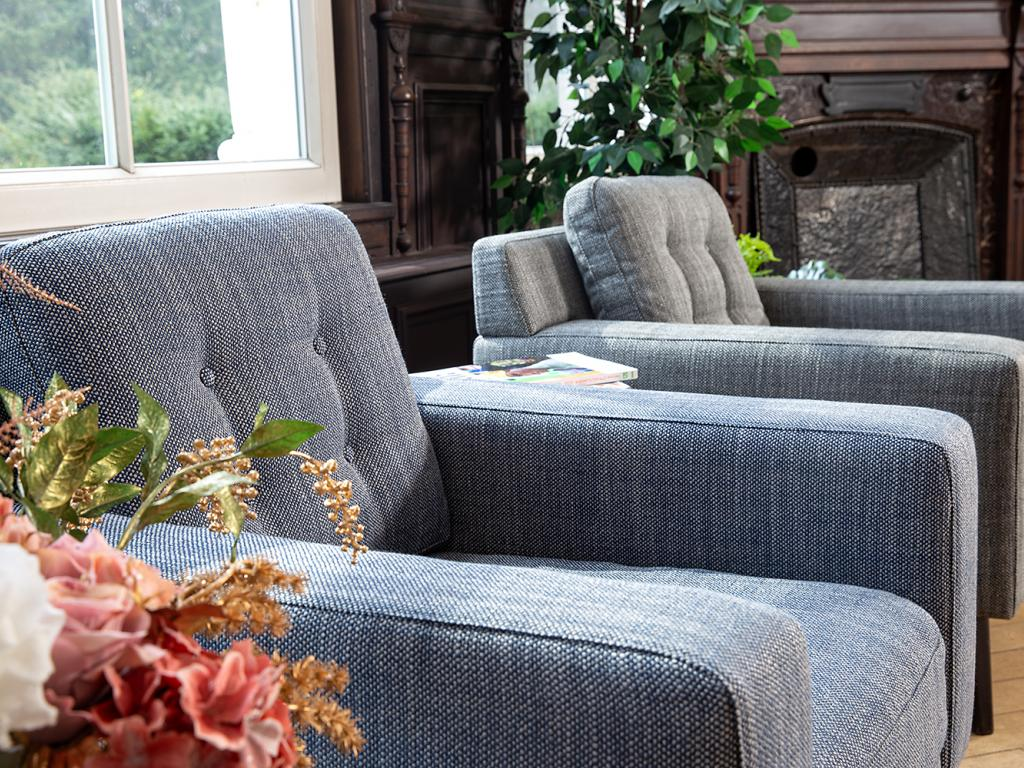 sofa with structured fabric corsica for furniture