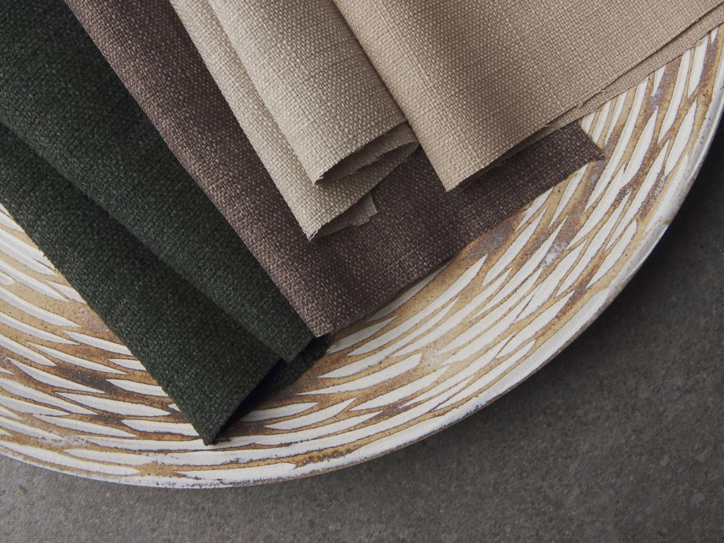 colours of linoso woven fabric