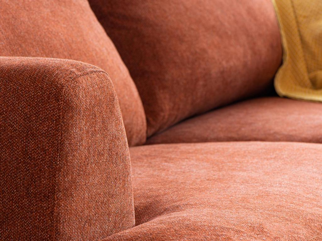 sofa with queens tweed fabric