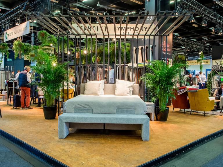 Symphony Mills' booth at Interzum Cologne