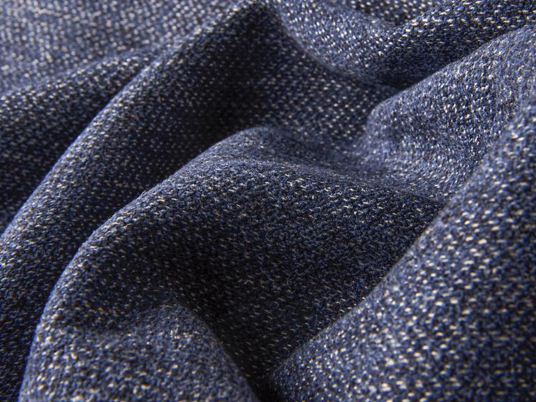 detail of texture of tweed queens