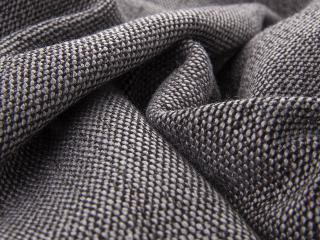 detail of atlantis structured fabric with chenille